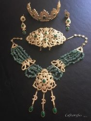 parure, caftans, robes, takchita, mariage, caftanyfes, oriental, traditionnel